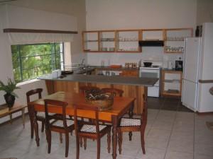Küche in unserer Unterkunft in Upington