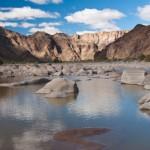 Felsen im Canyon
