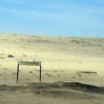 Ortschild Kolmanskop