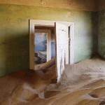 Innenansicht eines verlassenen Hauses