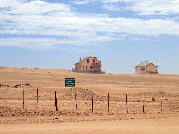 Kolmanskop – Geisterstädte sind nicht immer gruselig